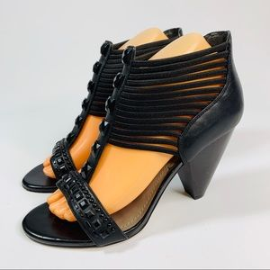 Vince Camuto Elastic Caged Heels